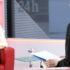 La presidenta de AEST en el Canal 24 Horas de TVE.